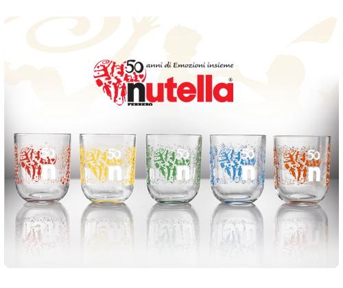 Bicchieri Nutella