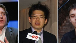 Jawed-Karim,-Steve-Chen-e-Chad-Hurley