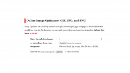 online-image-optimizer-strumento